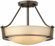 Hinkley 3220OB-LED Hathaway Olde Bronze LED 16  Flush Ceiling Light Fixture