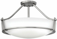 Hinkley 3221AN-LED Hathaway Antique Nickel LED 20.75  Overhead Light Fixture