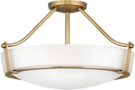 Hinkley 3221HB Hathaway Heritage Brass 21  Ceiling Light