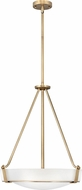 Hinkley 3222HB Hathaway Heritage Brass 21  Pendant Light Fixture