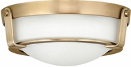 Hinkley 3223HB-LED Hathaway Heritage Brass LED 13  Ceiling Light Fixture