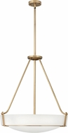 Hinkley 3224HB Hathaway Heritage Brass 27  Hanging Pendant Lighting