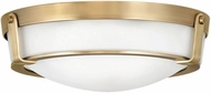 Hinkley 3225HB Hathaway Heritage Brass 16  Flush Lighting