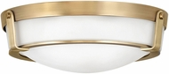 Hinkley 3225HB-LED Hathaway Heritage Brass LED 16  Flush Mount Lighting