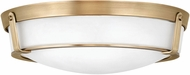 Hinkley 3226HB-LED Hathaway Heritage Brass LED 21  Flush Mount Light Fixture