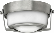 Hinkley 3228AN-QF Hathaway Antique Nickel LED Ceiling Light