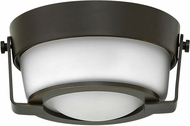 Hinkley 3228OB-WH Hathaway Olde Bronze LED Ceiling Light Fixture
