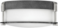 Hinkley 3231DZ Colbin Aged Zinc 12.5  Ceiling Light Fixture