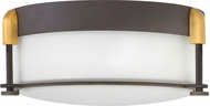 Hinkley 3231OZ Colbin Oil Rubbed Bronze 12.5  Flush Lighting