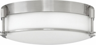 Hinkley 3233BN Colbin Brushed Nickel 16.5  Flush Mount Lighting