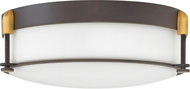 Hinkley 3233OZ Colbin Oil Rubbed Bronze 16.5  Flush Mount Light Fixture