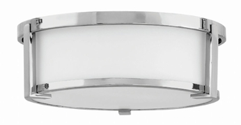 Hinkley 3241CM Lowell Modern Chrome 13  Flush Mount Lighting