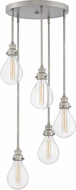 Hinkley 3265PW Denton Modern Pewter Multi Drop Ceiling Lighting