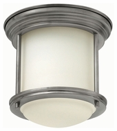 Hinkley 3300AN Hadley Antique Nickel Finish 7 Tall LED Ceiling Lighting Fixture