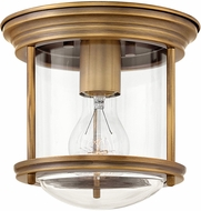 Hinkley 3300BR-CL Hadley Modern Brushed Bronze Flush Ceiling Light Fixture