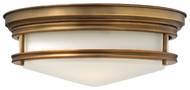 Hinkley 3301BR Hadley Bronze 14 Inch Diameter Nautical Flush Mount Lighting