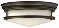 Hinkley 3301OZ Hadley Flush Mount Oil Rubbed Bronze Finish Nautical Overhead Light Fixture