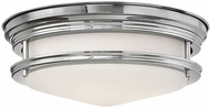 Hinkley 3302CM Hadley Chrome Flush Mount Lighting