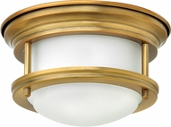 Hinkley 3308BR-QF Hadley Brushed Bronze LED Flush Mount Lighting Fixture
