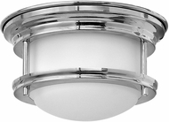 Hinkley 3308CM Hadley Chrome LED Flush Ceiling Light Fixture