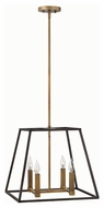 Hinkley 3334BZ Fulton Bronze Finish 16.25  Tall Pendant Lighting