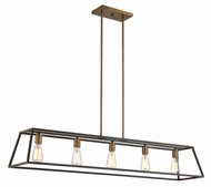 Hinkley 3335BZ Fulton Bronze Island Lighting