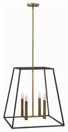 Hinkley 3336BZ Fulton Bronze Finish 22  Wide Pendant Light