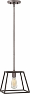 Hinkley 3337DZ Fulton Aged Zinc Mini Hanging Lamp
