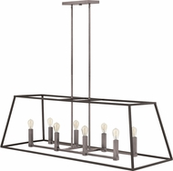 Hinkley 3338DZ Fulton Aged Zinc Kitchen Island Lighting