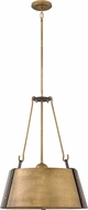 Hinkley 3395RS Cartwright Rustic Brass 19.5  Pendant Lighting Fixture