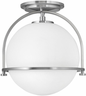 Hinkley 3403BN Somerset Contemporary Brushed Nickel Ceiling Light Fixture