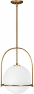 Hinkley 3405HB Somerset Modern Heritage Brass Lighting Pendant