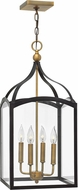 Hinkley 3415BZ Clarendon Bronze 12  Foyer Lighting