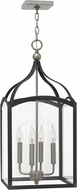Hinkley 3415DZ Clarendon Aged Zinc 12  Foyer Light Fixture