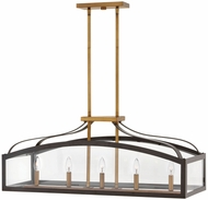 Hinkley 3416BZ Clarendon Bronze Kitchen Island Light
