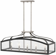 Hinkley 3416DZ Clarendon Aged Zinc Island Light Fixture