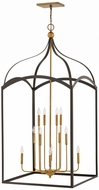 Hinkley 3419BZ Clarendon Bronze Entryway Light Fixture