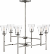 Hinkley 3456PL Arden Contemporary Polished Antique Nickel Lighting Chandelier