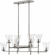 Hinkley 3458PL Arden Modern Polished Antique Nickel Kitchen Island Light