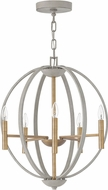Hinkley 3466CG Euclid Contemporary Cement Gray Foyer Lighting