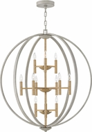 Hinkley 3469CG Euclid Contemporary Cement Gray Foyer Lighting Fixture