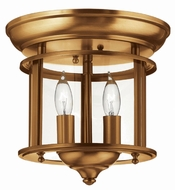 Hinkley 3472HR Gentry Heirloom Brass Ceiling Light