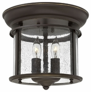 Hinkley 3472OB Gentry Small 9 Inch Wide Olde Bronze Transitional Ceiling Lighting Fixture