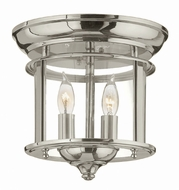 Hinkley 3472PN Gentry Polished Nickel Ceiling Light Fixture