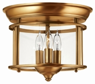 Hinkley 3473HR Gentry Heirloom Brass Ceiling Lighting Fixture
