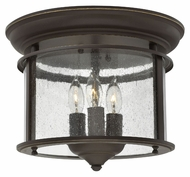 Hinkley 3473OB Gentry Large Transitional 11 Inch Wide Ceiling Lamp - Olde Bronze