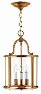 Hinkley 3474HR Gentry Heirloom Brass Foyer Lighting