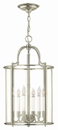 Hinkley 3478PN Gentry Polished Nickel Entryway Light Fixture