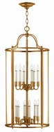 Hinkley 3479HR Gentry Heirloom Brass Foyer Lighting