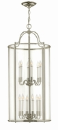 Hinkley 3479PN Gentry Vintage Polished Nickel Foyer Light Fixture